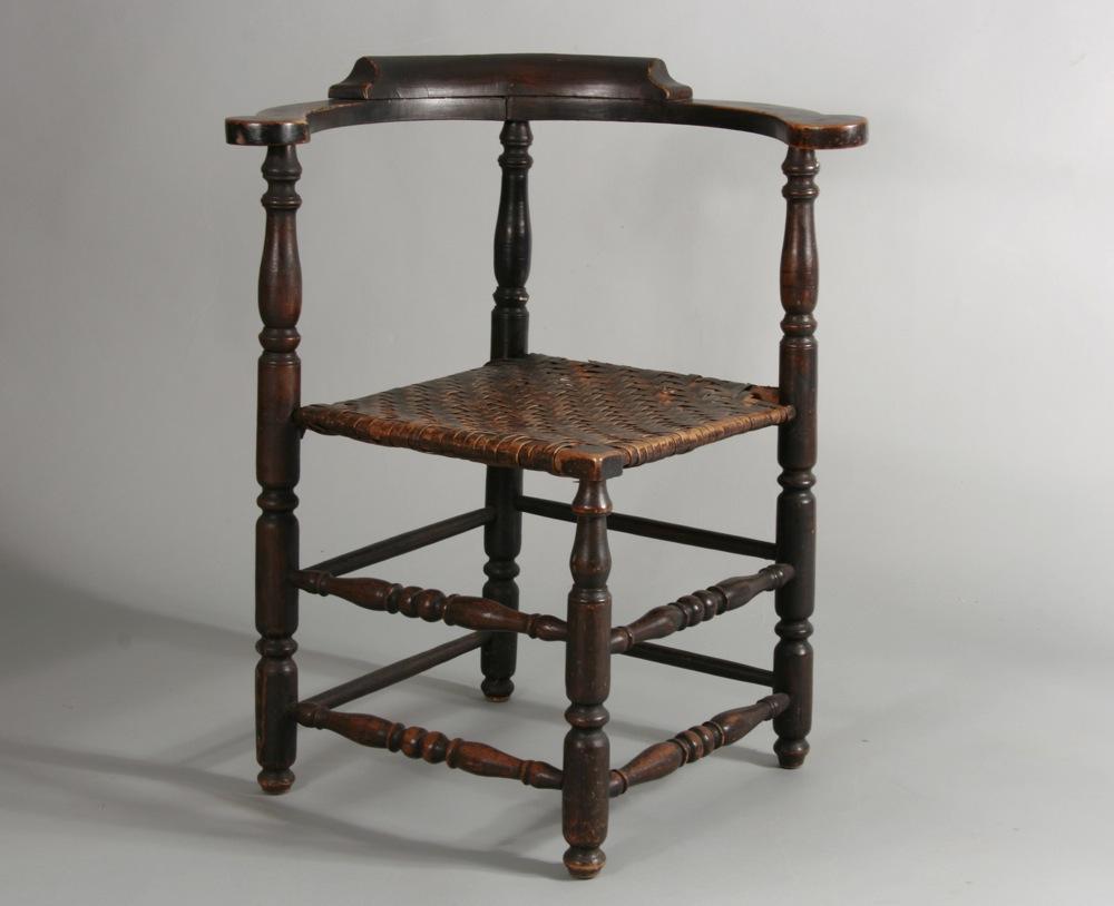 antique corner chair - Sold - Peter H. Eaton Antiques