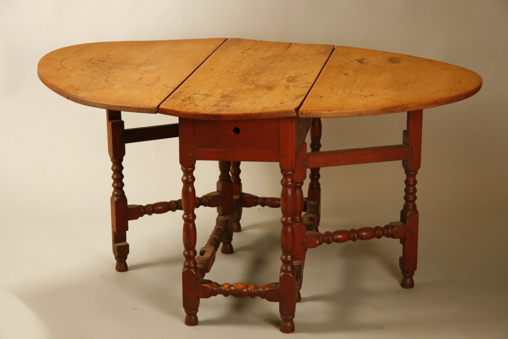 antique William and Mary gateleg table