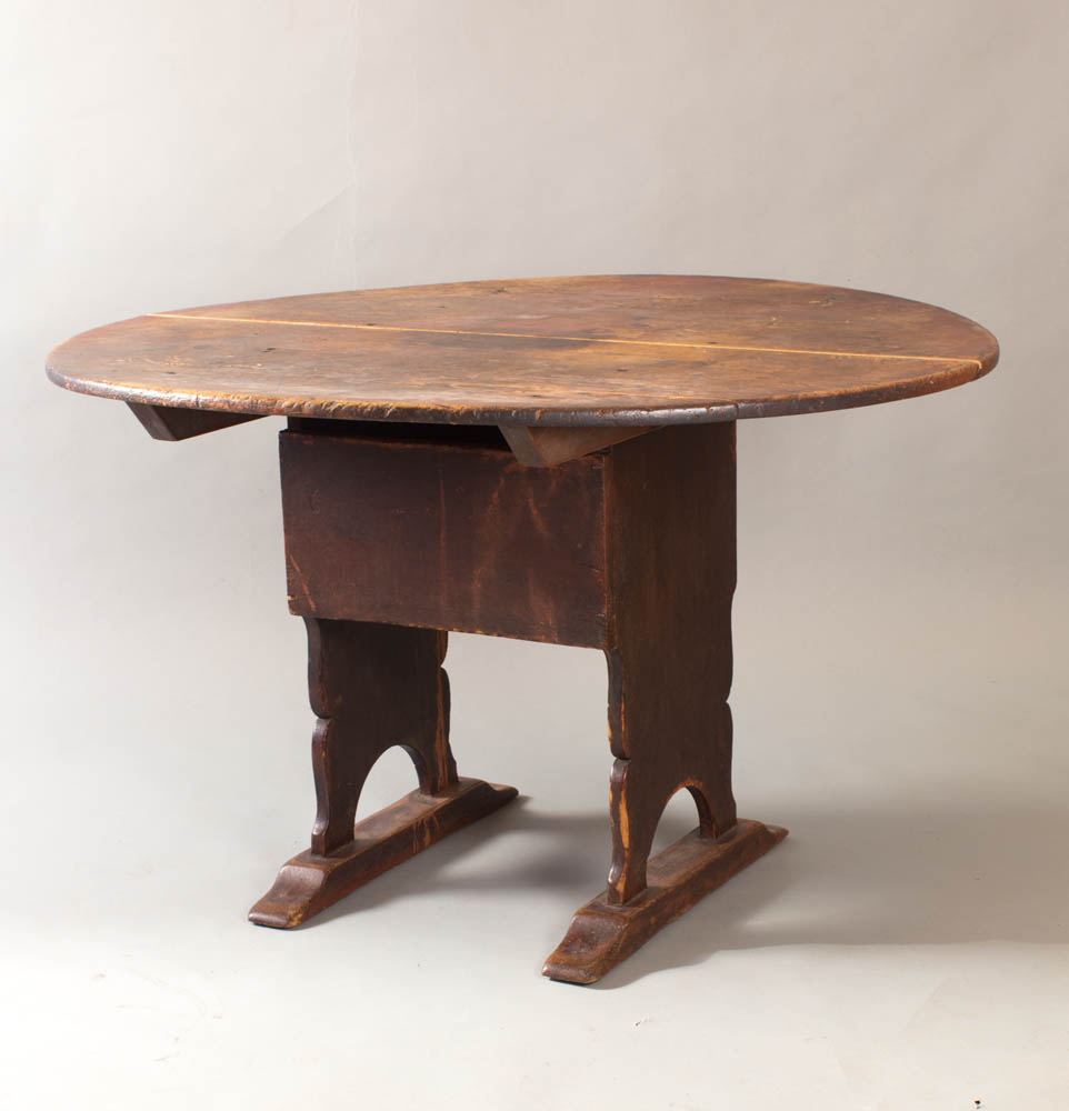 very fine late 18th century chair table