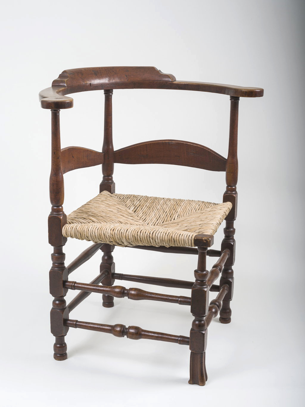 A william and mary corner chair